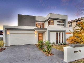 Fachadas de casas modernas 2 andares arquitetura e for Casa moderna design