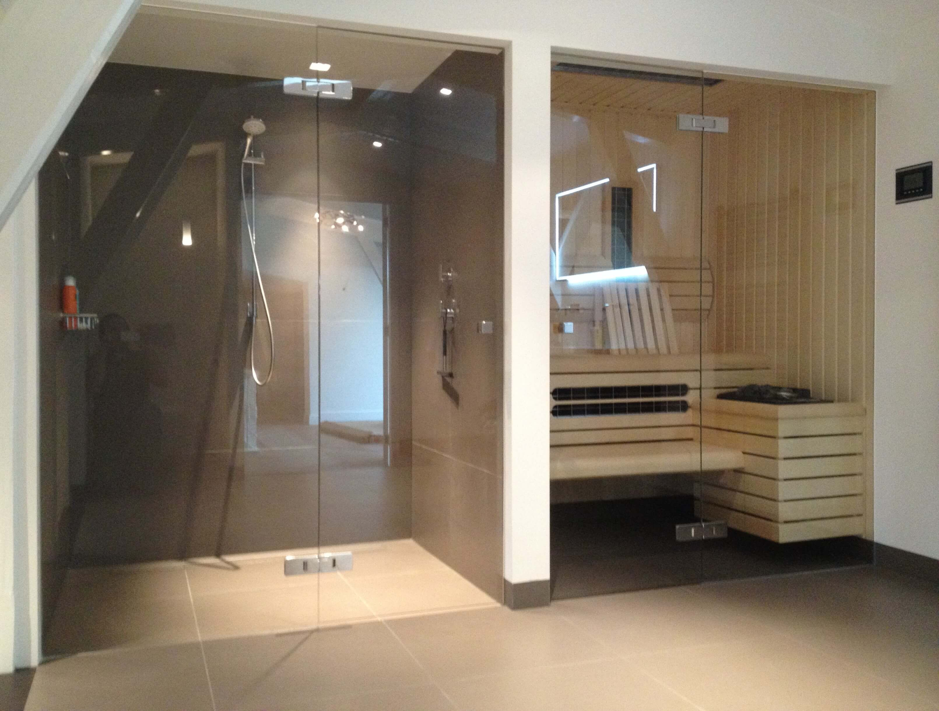 Sauna Inbouwen Badkamer : Sauna in badkamer badkamer saunas modern saunas
