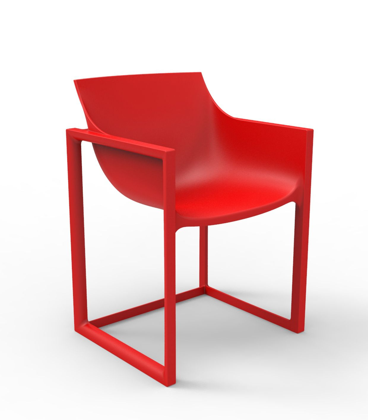 Wall Street Chair By Vondom Will Fit Inside And Outside On A Terrace. Its  Enveloping