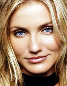 Cameron Diaz She Has Some Really Blue Eyes Makeup Tips For