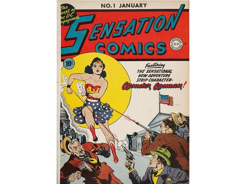 The Surprising Origin Story Of Wonder Woman Wonder Woman Comic Rare Comic Books First Wonder Woman