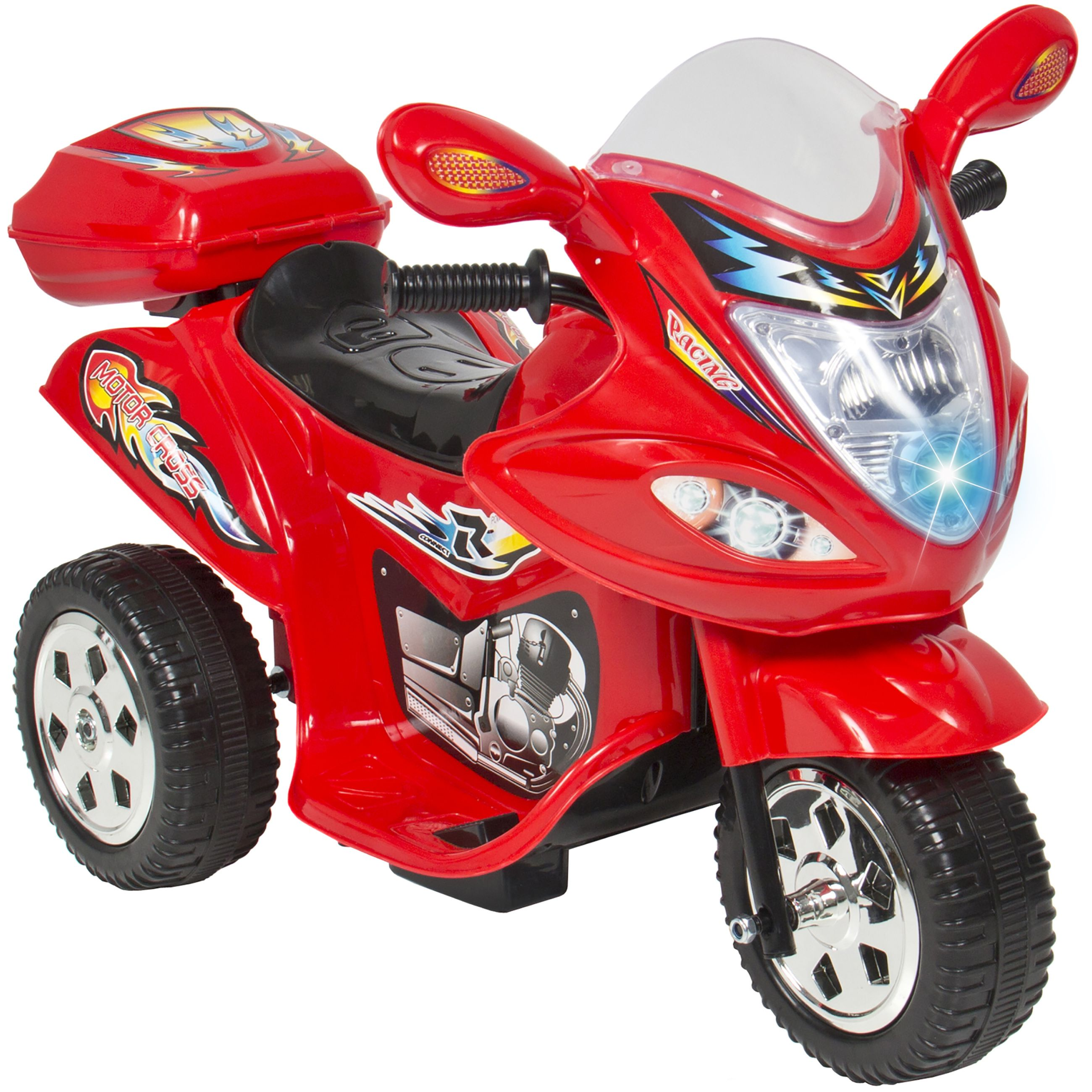 Kids Ride Motorcycle 6V Toy Battery Powered Electric 3 Wheel
