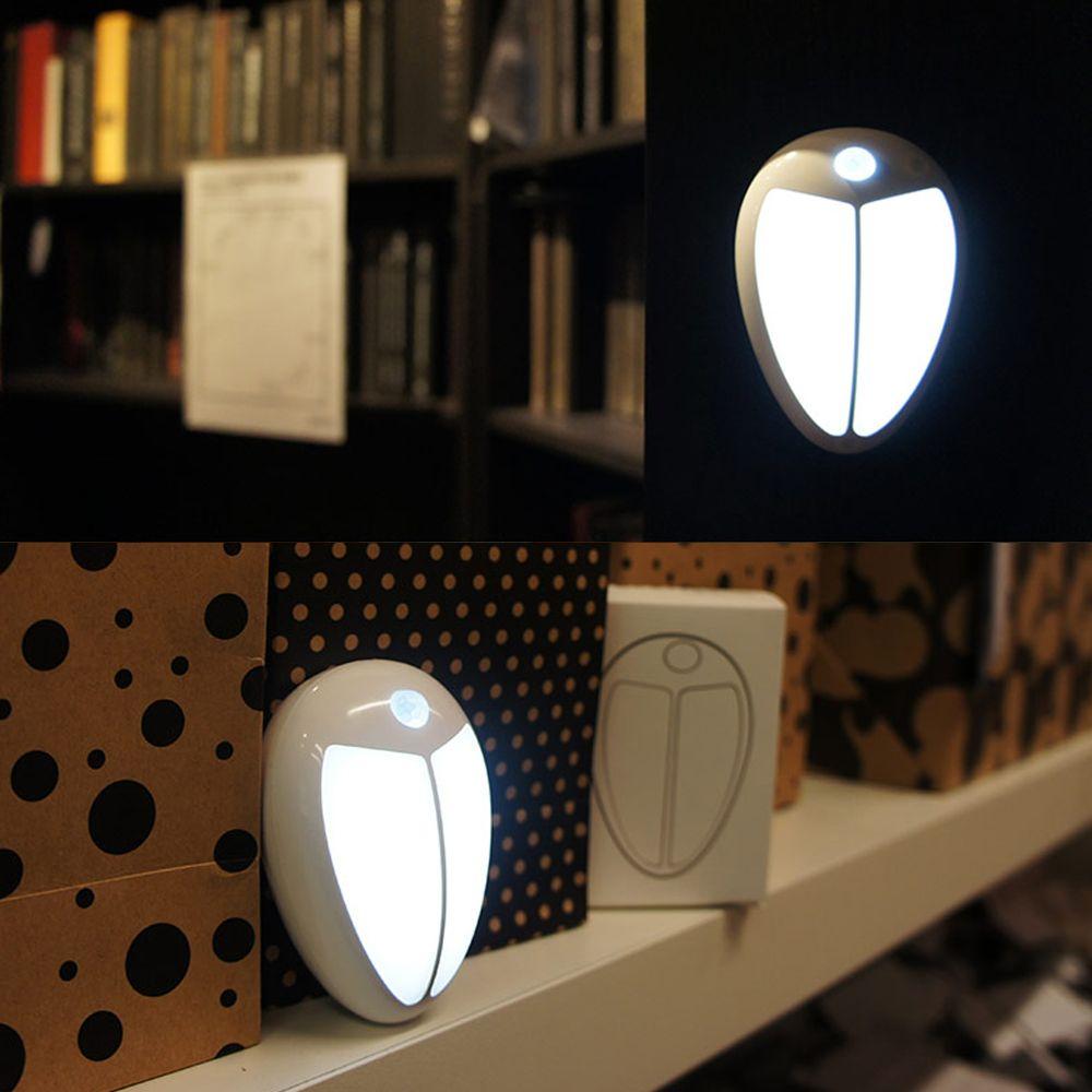 Mini wireless infrared motion sensor baby led night light porch wall