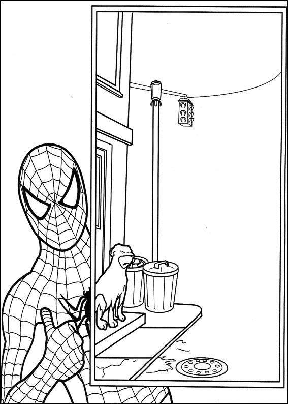 spiderman 53 ausmalbilder für kinder malvorlagen zum