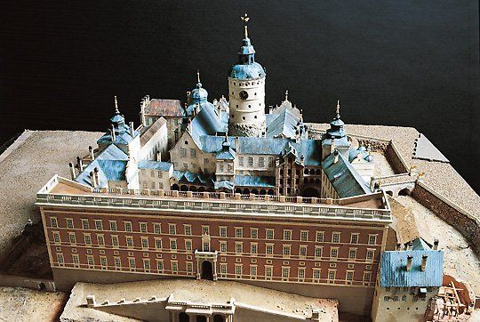 STOCKHOLM_The Royal Palace of Tre Kronor, in 1697.