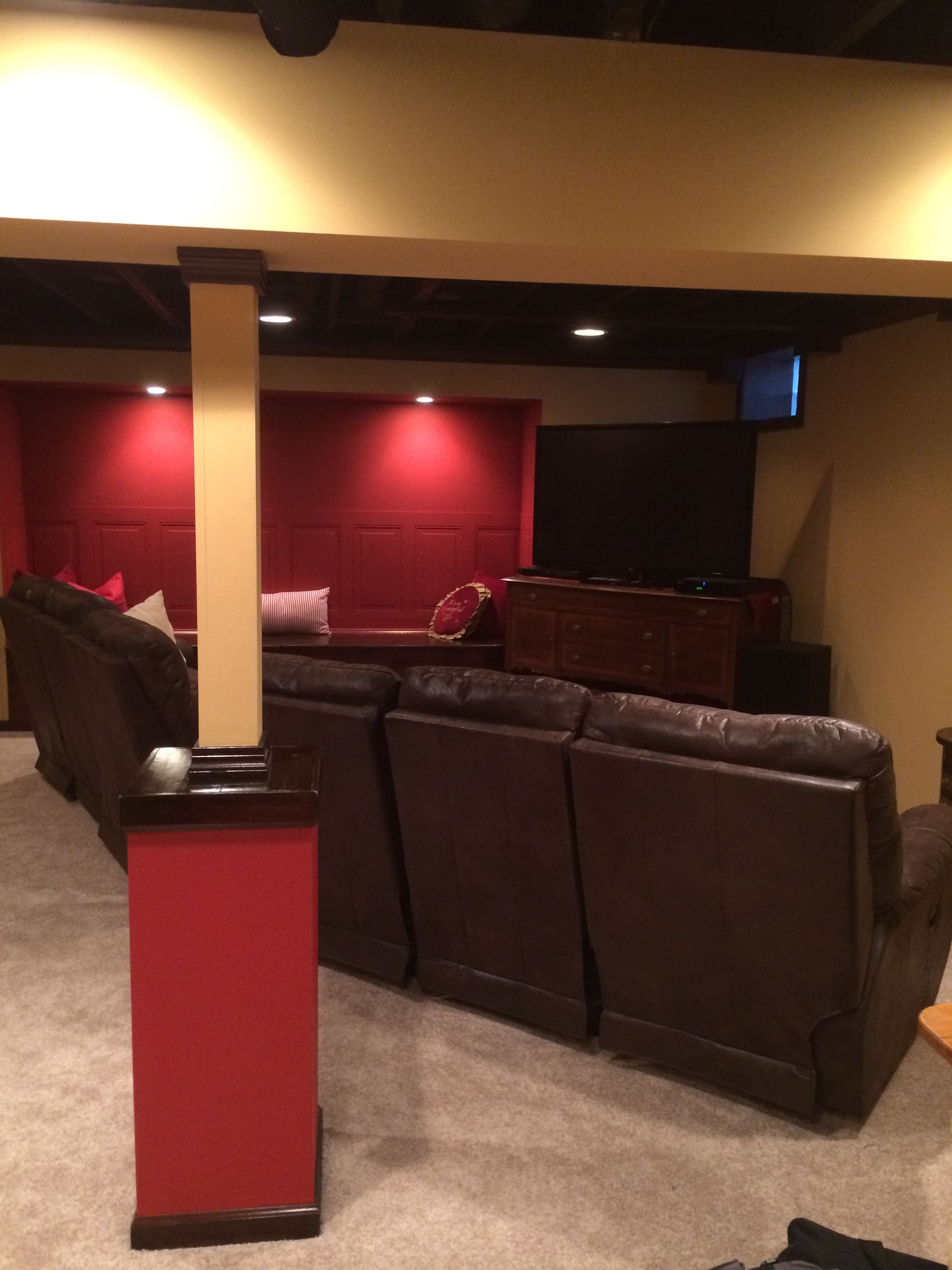 Finished Basement By The Basement Doctor Finishing Basement Man Cave Man Cave Home Bar