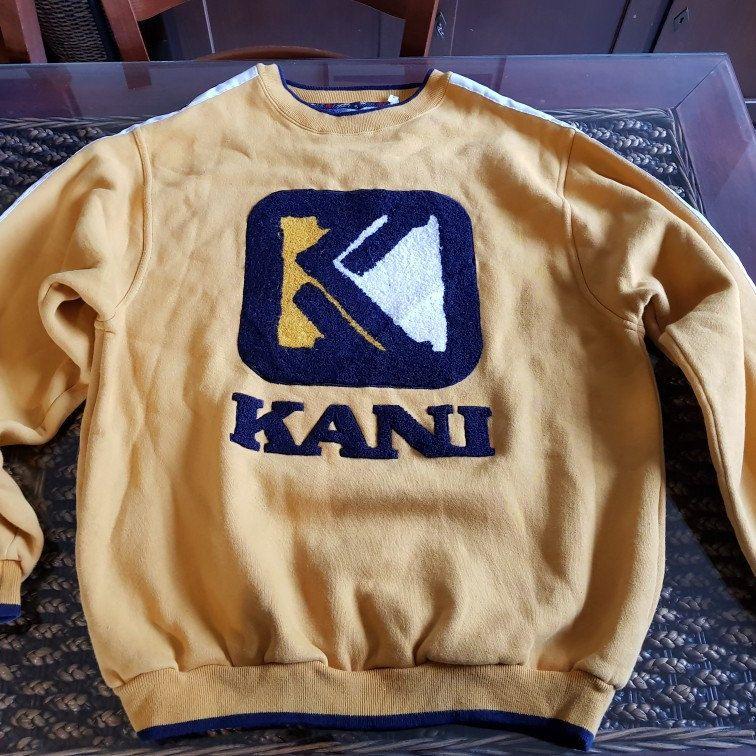 90s iconic karl kani jeans hip hop golden era brand vintage sweatshirt fa18e7c4250c