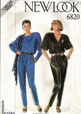 Misses  Vintage Jumpsuit New Look ( Size 18-26) - Uncut - RARE