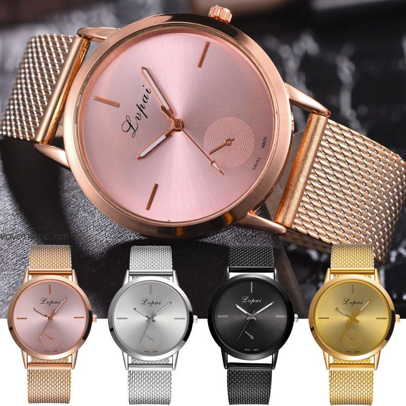 Quartz Wrist Watch Women Ladies Silicone Strap Analog Fashion Casual Watches New Women Wrist Watch Womens Watches Casual Watches