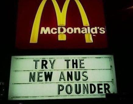 McDonalds Anuspounder