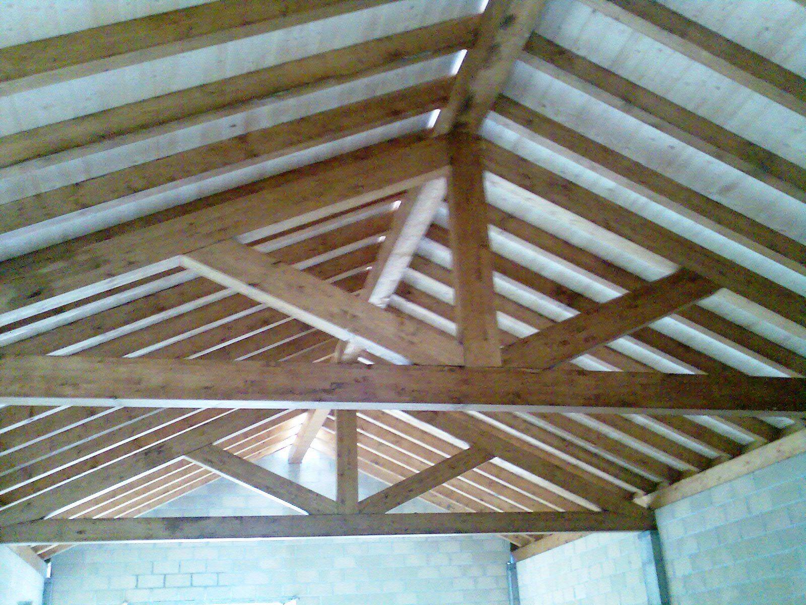 Cerchas madera para cubiertas image search - Techos de madera interiores ...