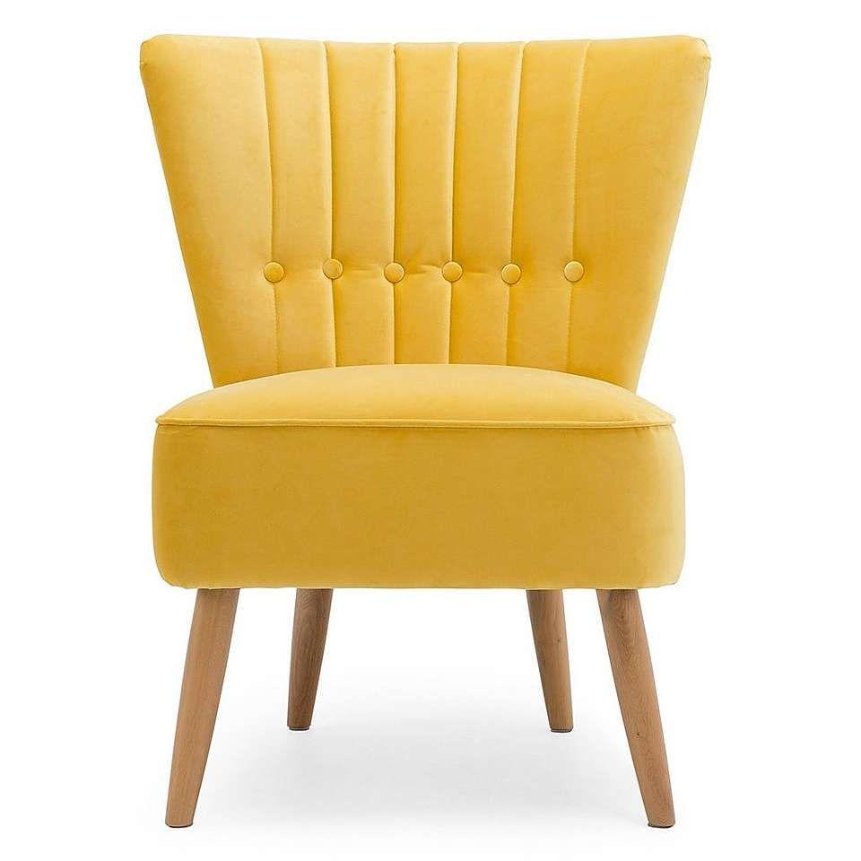 Isla Velvet Chair Citrus | Velvet