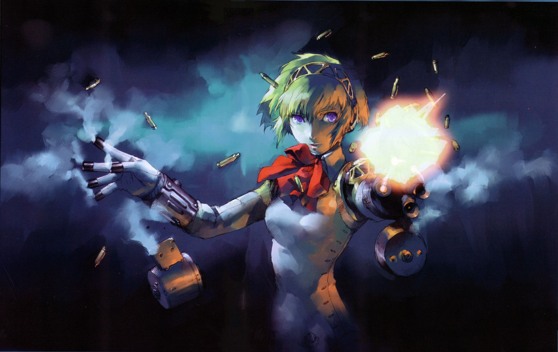 Image result for persona 3 aigis