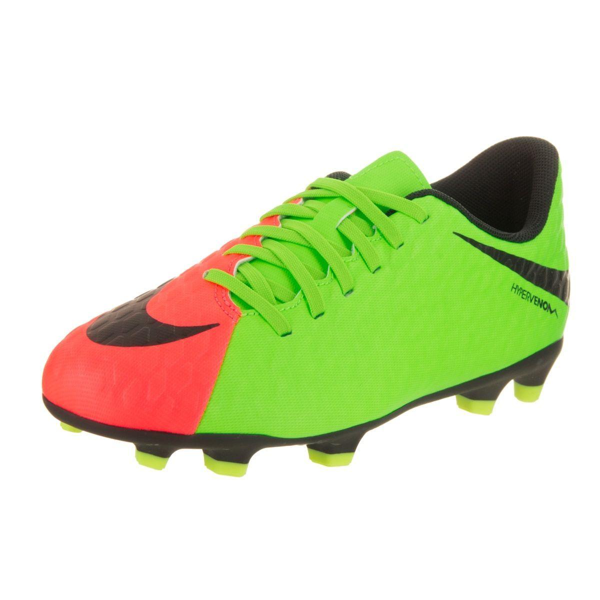 cb414b01ae8 Nike Kids Jr. Boys  Hypervenom Phade III FG Soccer Cleats