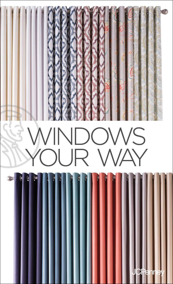 Jcpenney Curtains And Blinds.Tap To Shop Drapes Or Blinds Shades Or Curtains