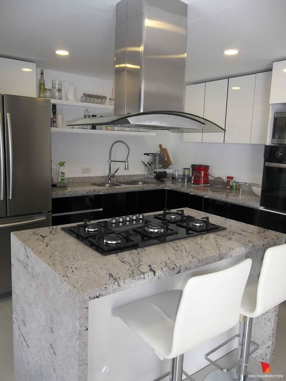 50 Cocinas Modernas Con Isla Y Desayunador 2019 Isla Cocina