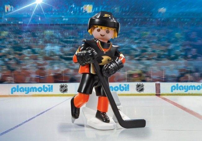 Playmobil Hockey LNH:Joueur des Ducks de Anaheim - Castello   Jeux et Jouets