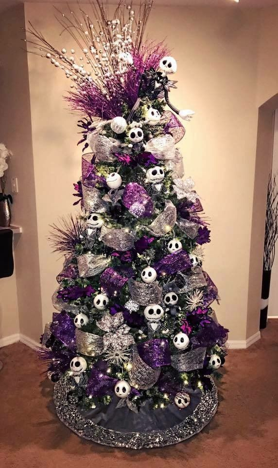 Pin By Tammy Willow On The Christmas I Dream Of Nightmare Before Christmas Decorations Nightmare Before Christmas Tree Christmas Tree Themes