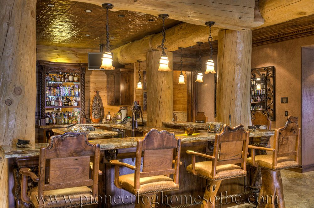 Bars And Games Rooms | Game rooms, Log cabins and Cabin