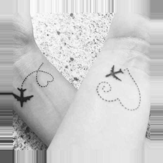 , #friends #living #popsugar #Reisepaar-Tattoos #smart #tattoos, Travel Couple, Travel Couple