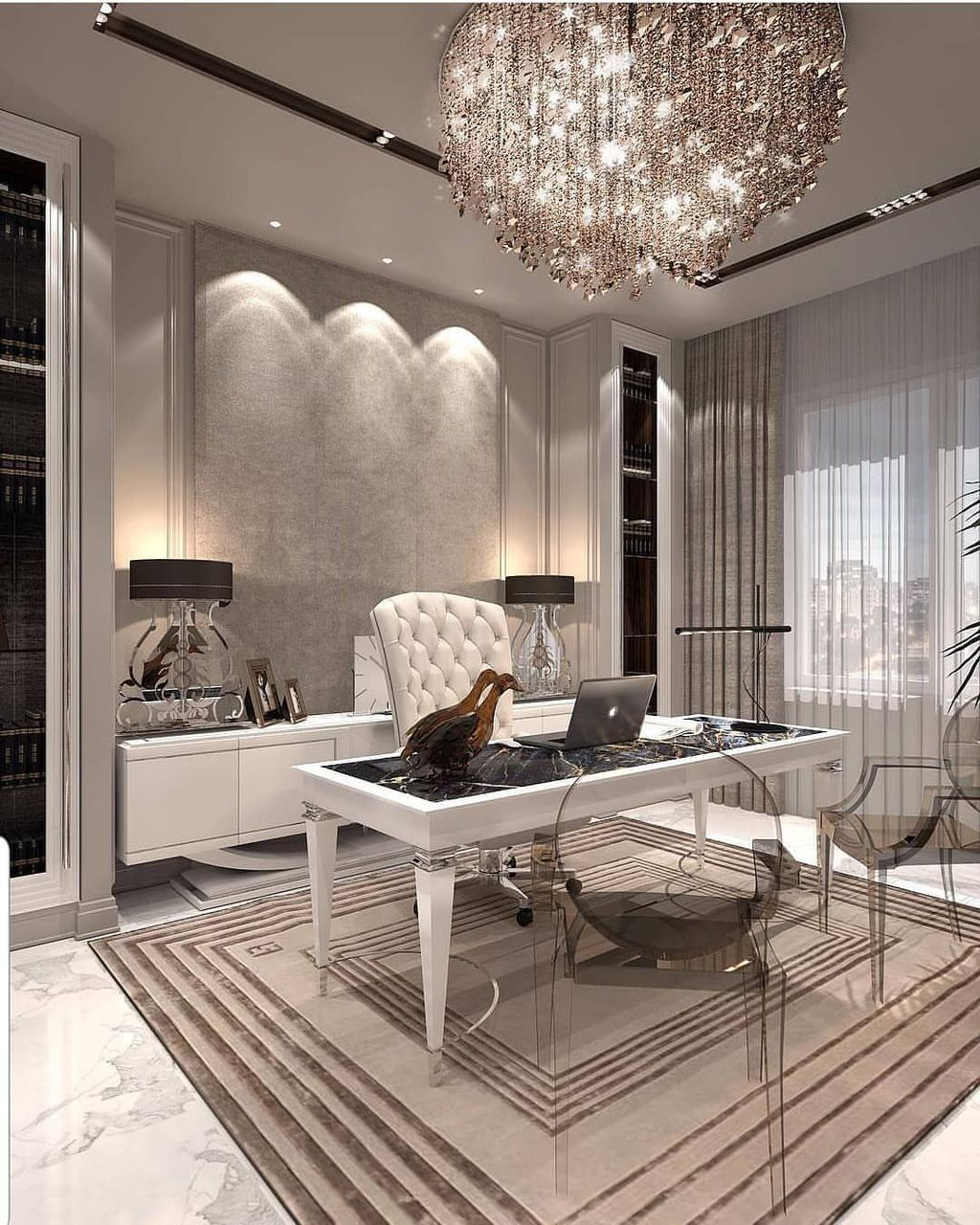 35 Gorgeous Modern Office Interior Design Ideas You Never Seen Before - HOMYHOMEE