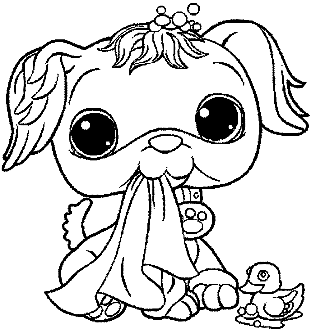 Cute And Sweet Littlest Pet Shop Coloring Pages Elephant Coloring Page Dog Coloring Page Cute Coloring Pages