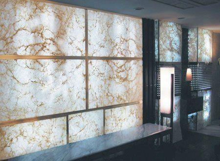 Imagilux Creates Custom Led Light Panels Backlit Onyx