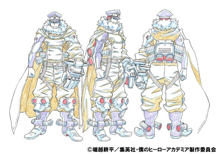 夜嵐イナサ 設定画 character design concept art characters character concept