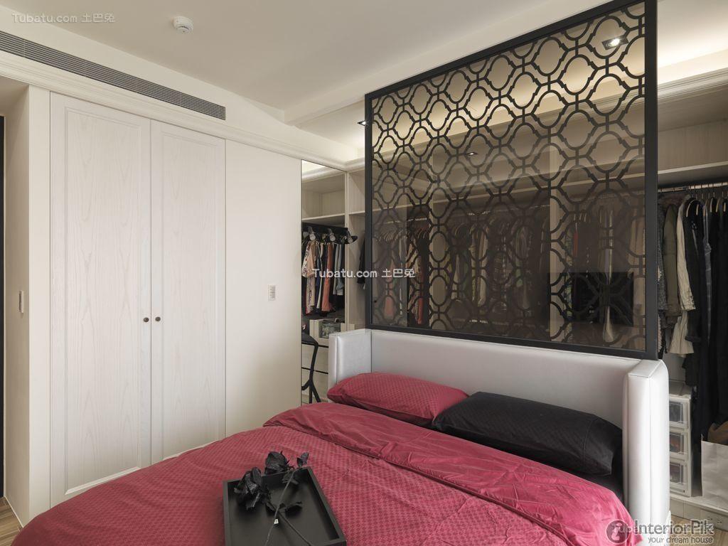 Post-modern style bedroom decoration 2015
