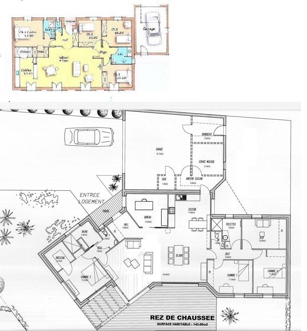plan de maison y
