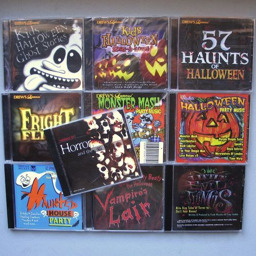 10x halloween party drew s famous sound effects cds haunted house