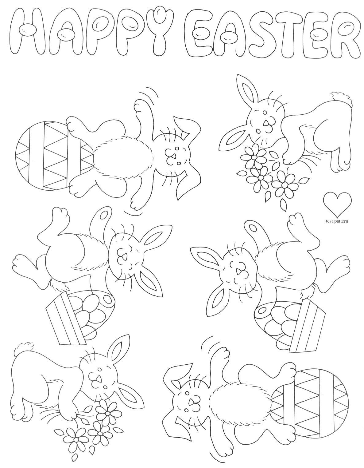 Vintage | Easter colouring, Coloring pages, Easter coloring pages | 1522x1186