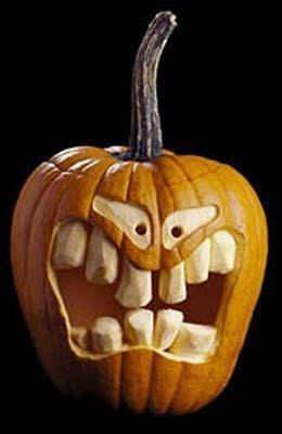 Unique Scoop: 100 + Creative Pumpkin Carving Ideas on we heart it / visual bookmark #16485576 #pumkincarvingdesigns