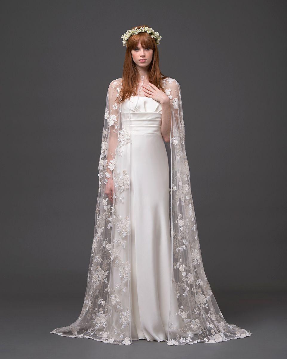 Dark purple wedding dress  lace wedding cape I donut know wether I like a dark purple capea