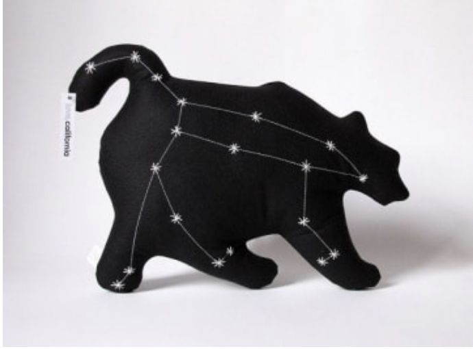 Black Sheet Of Paper Kids Make Their Own Consolations Glow In The Dark Constellations Ursa Major