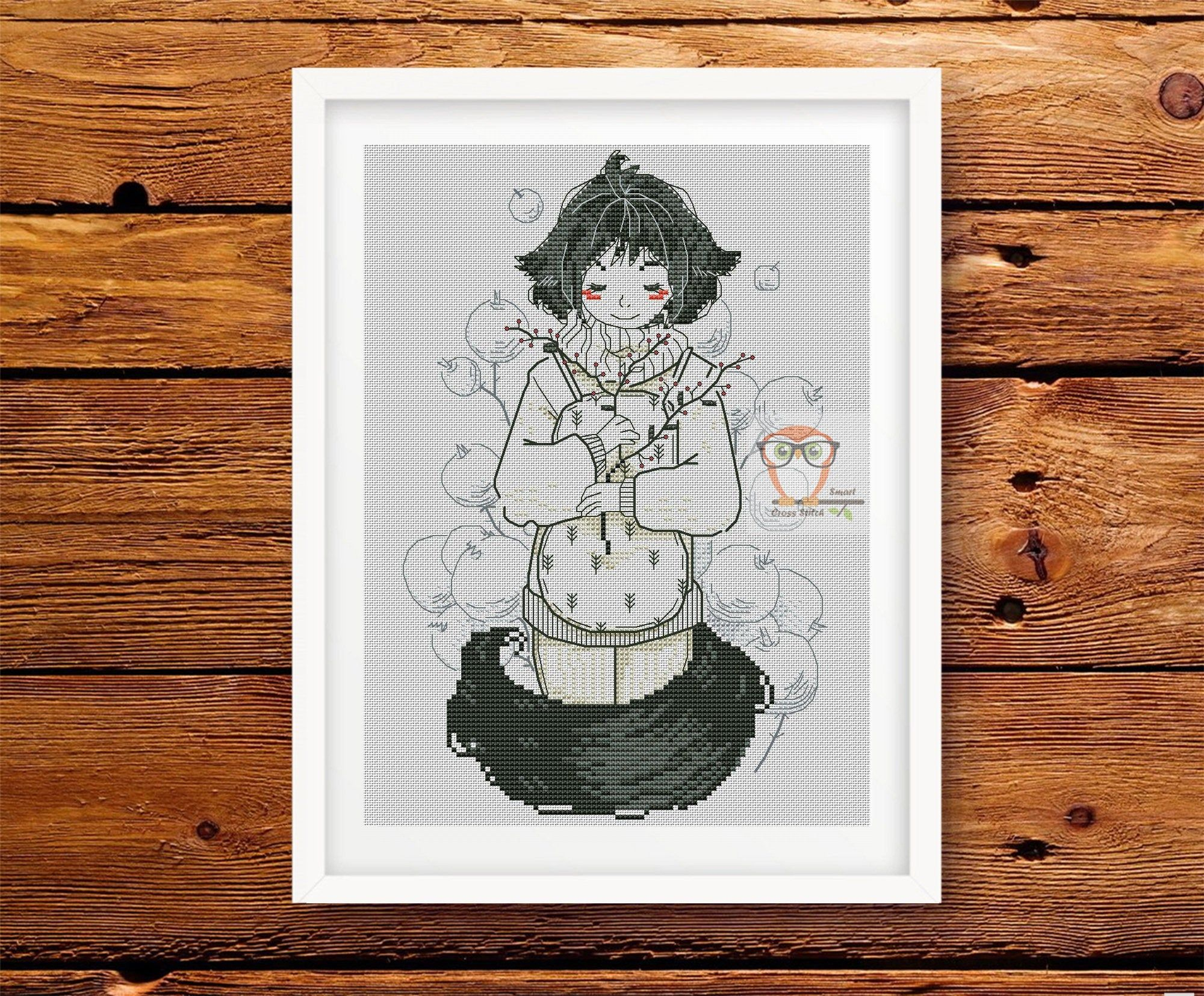 42+ Anime girl embroidery designs inspirations