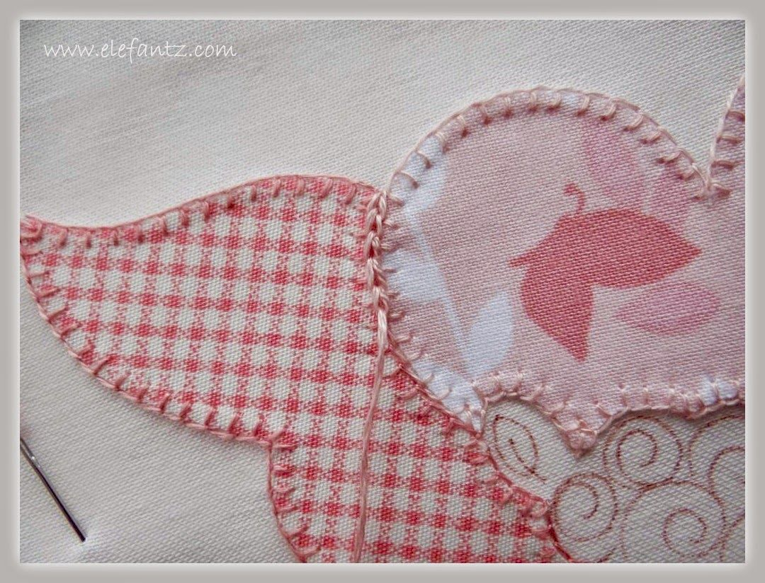 Tutorial : step by step for split applique...