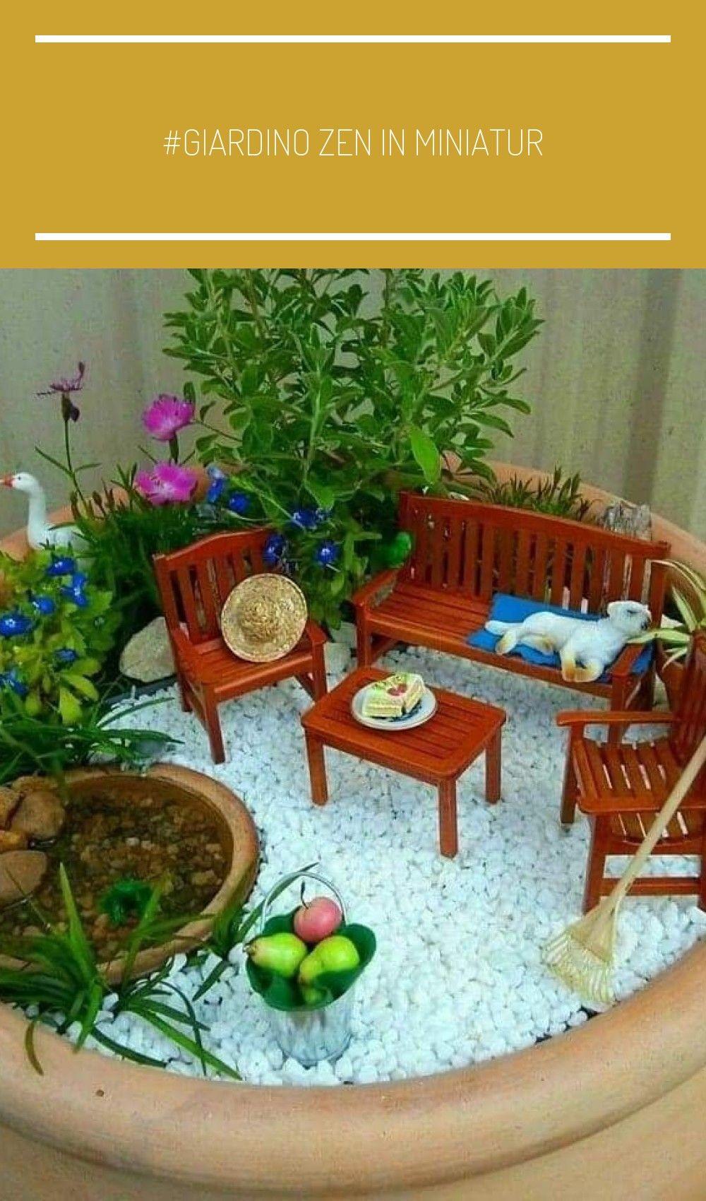 Fai Da Te Giardino Zen giardino zen in miniatur in 2020 (with images) | crochet
