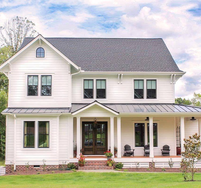 In Love With This Modern Farmhouse Floor Plan So When I Was 13 And My Dad Let Us Each Modern Farmhouse Plans Modern Farmhouse Floorplan Farmhouse Floor Plans