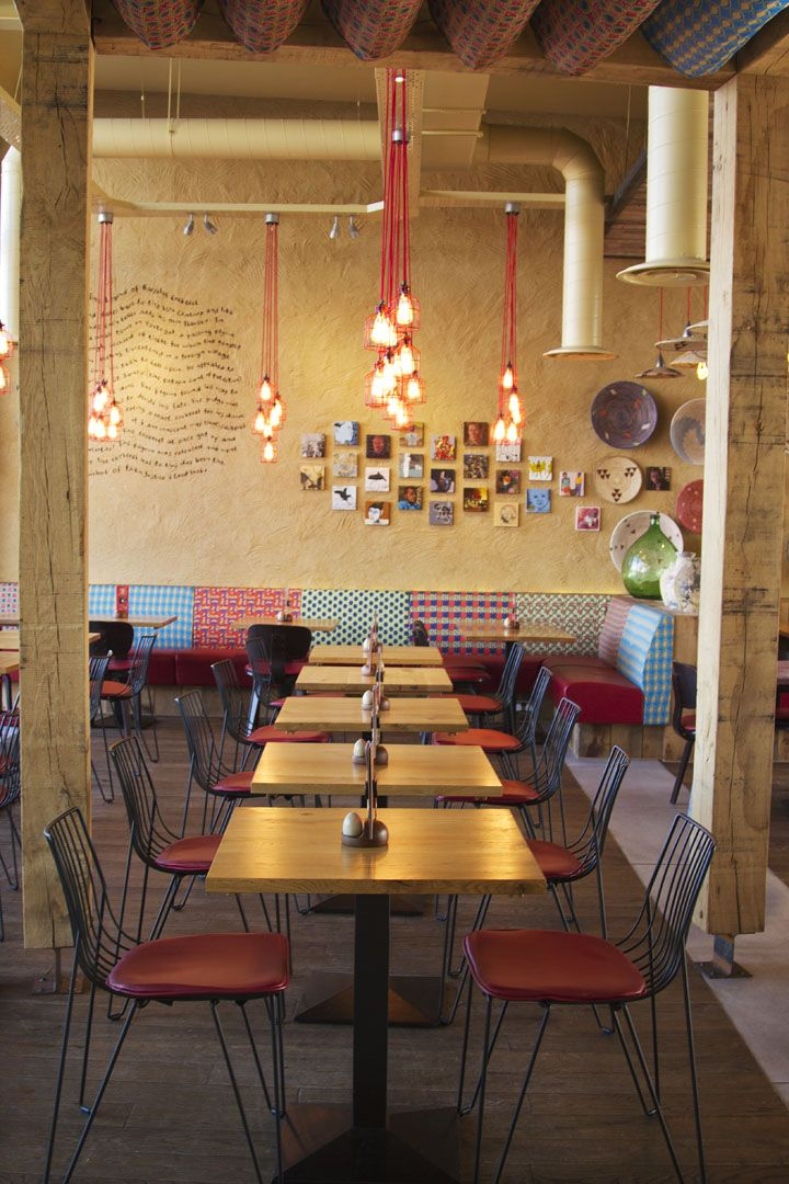 Nandos Restaurant By B3 Designers Leigh Uk Hotels And Restaurants