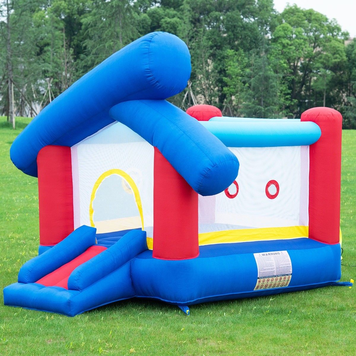0ae596b7e Inflatable Bounce  House Castle Jumper without Blower