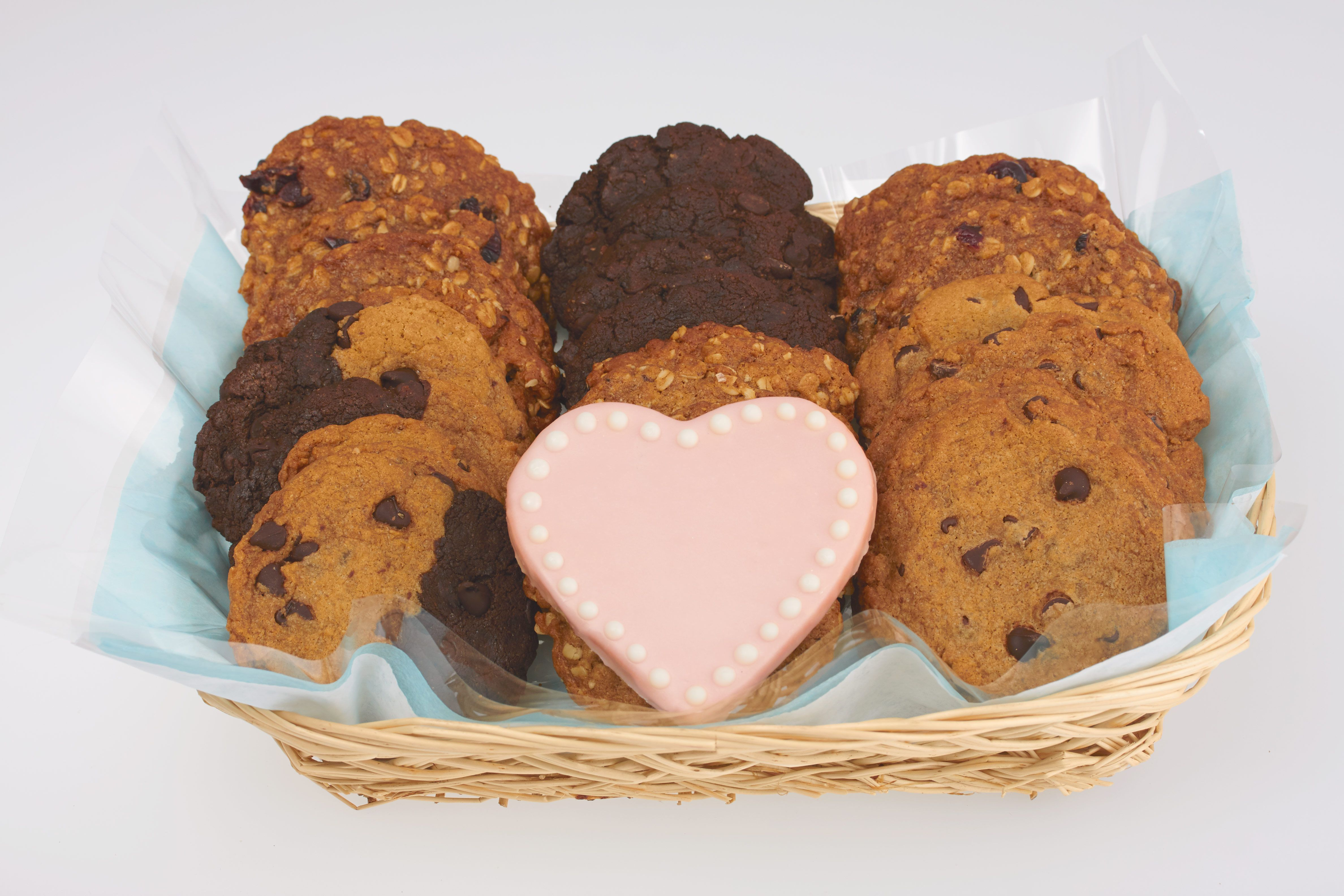I love you cookie gift basket cookie gift baskets