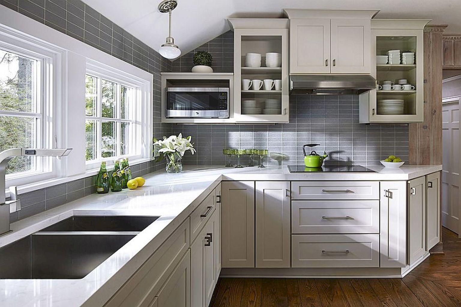 50+ Best Finishing Tricks In Gray Kitchen Designs | Kitchen Model