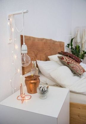 hangeleuchte-gluhbirne-lampen-schlafzimmer-deko-ideen-kupfer-resized - schlafzimmer deko bilder