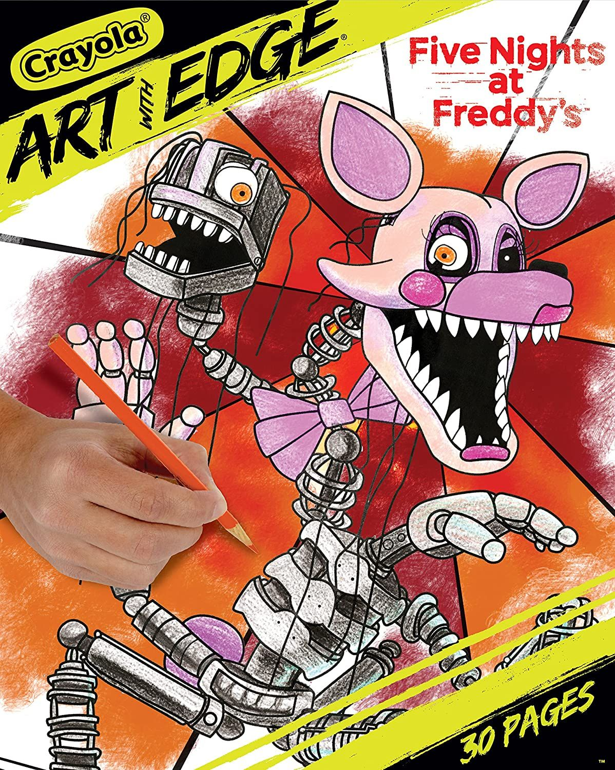 Springtrap Fnaf 6 Coloring Pages In 2020 Coloring Books Crayola Coloring Pages Coloring Pages