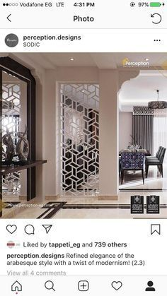 villa #home #floor #dinningroom salon marocain design