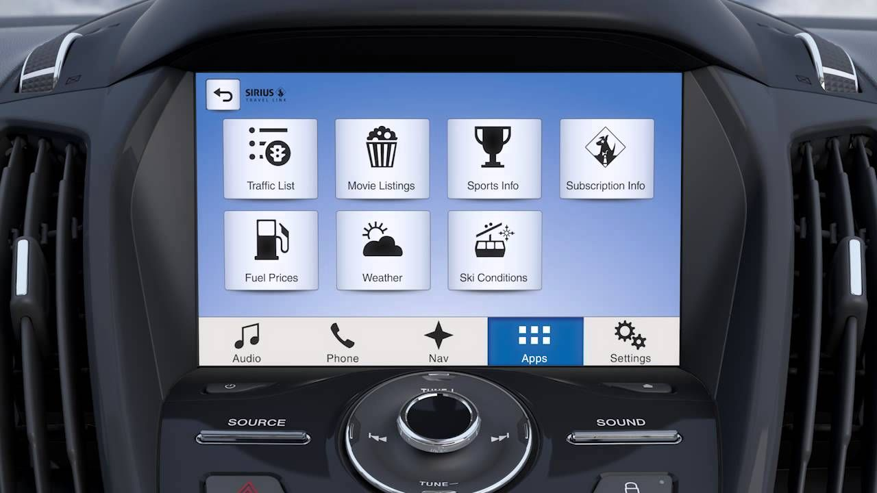 Sync3 With Available Navigation System Overview Ford Sync