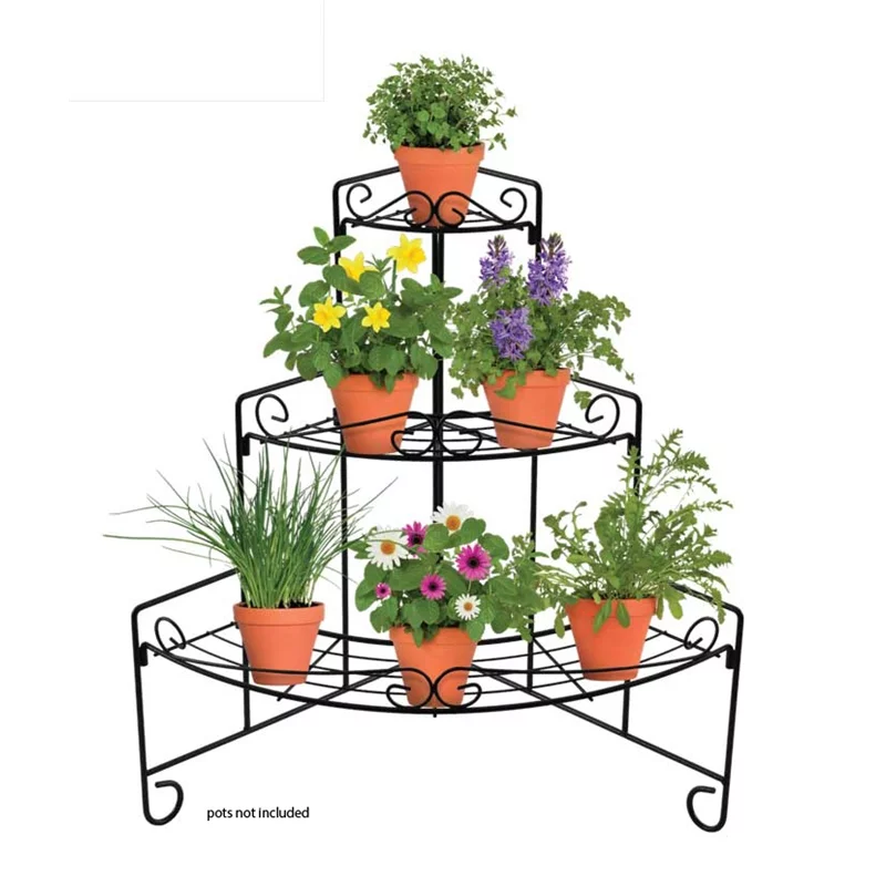 Pin On Stacked Flower Pots