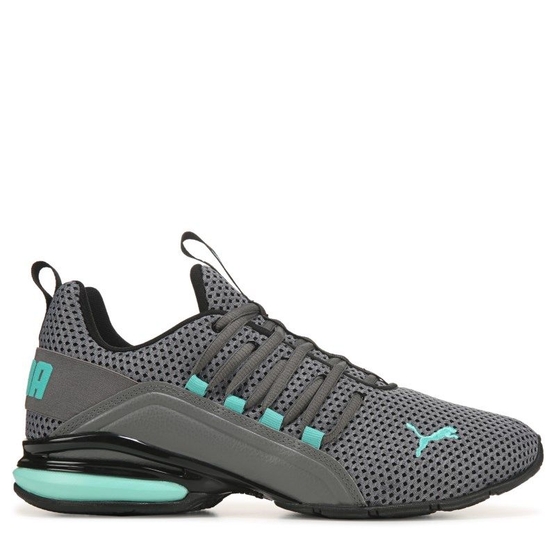Puma Men's Axelion Running Shoes (GreyTeal) in 2019 | Pumas