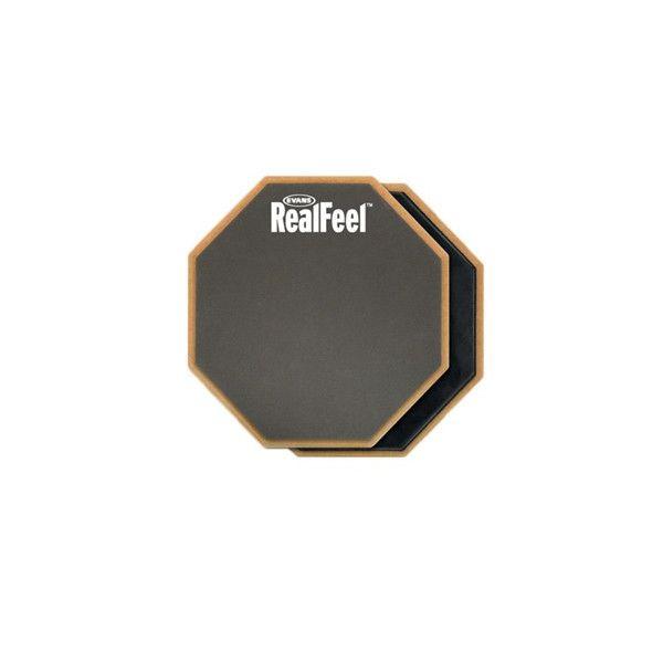 2-Sided 6 Inch Evans RF6D Realfeel Practice Pad